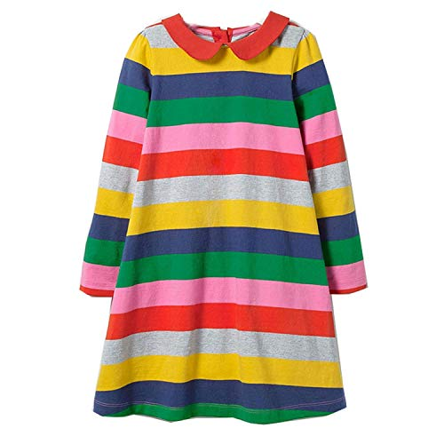 Baby Dress Cotton A-line Princess Dress Christmas Costume for Kids Clothes Winter Toddler Girls Dresses Children Clothing,93,3T ()