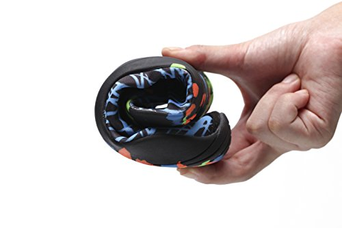 RENZER Wasserschuhe Leichte Schwimmhaut Aqua Socken Schuhe Slip-on für Strand Web-blau