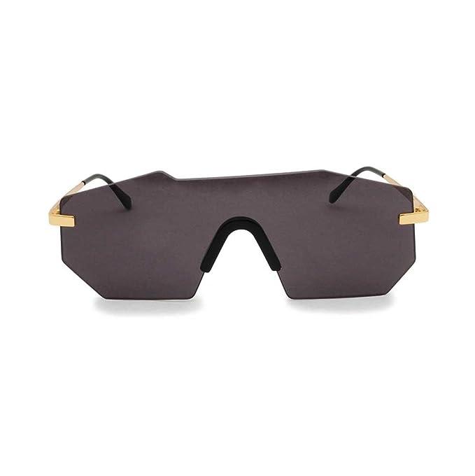 Glassing - Gafas de sol - para hombre dorado dorado: Amazon ...