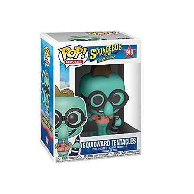Funko Pop! Animation: Spongebob Movie - Squidward in Camping Gear, Multicolor: Toys & Games