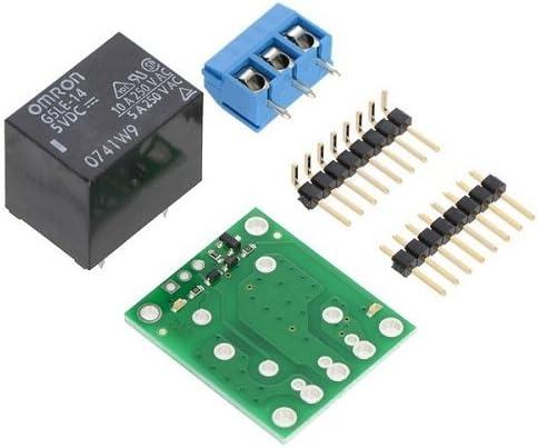 Pololu 1回路2接点5Vリレーモジュールキット