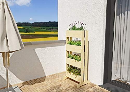 GartenDepot24 - Jardinera vertical estable para plantas aromáticas ...