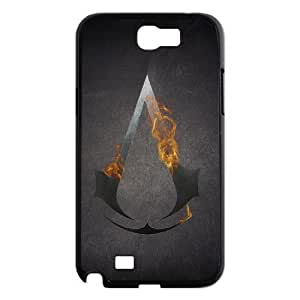 Custom Assassin's Creed Protective Phone Case For Samsung Galaxy Note 2 Case High Quality PC Cover CASE-1