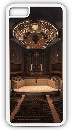 iPhone 8 Plus 8+ Case Symphony Hall Auditorium Concert Orchestra Music Customizable by TYD Designs in White Plastic Black Rubber Tough -