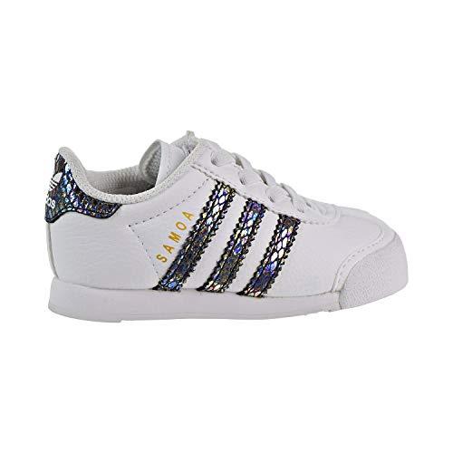 (adidas Samoa Snake Toddlers Shoes Footwear White/Footwear White/Core Black bw1301 (5 D(M) US))
