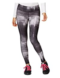 Ideology Women's Printed Full-Length Ankle Leggings with Headband 2-Piece Set
