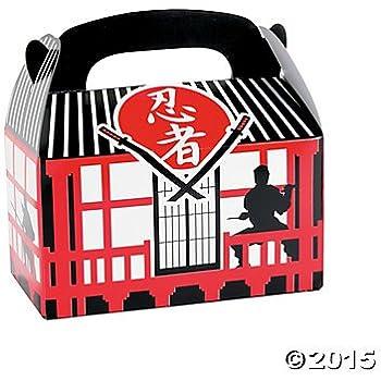 Ninja Warrior Treat Boxes - 12 ct