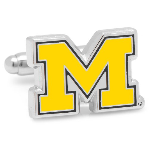 NCAA University of Michigan Wolverines Cufflinks, Officially Licensed
