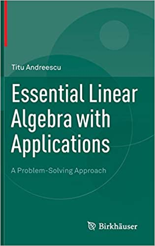 Essential Linear Algebra with Applications: A Problem