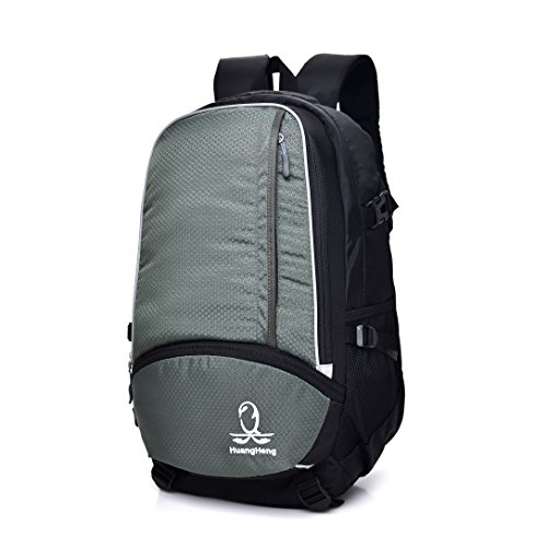 HuangHeng Lightweight Waterproof Durable Travel Hiking Backpack Daypack