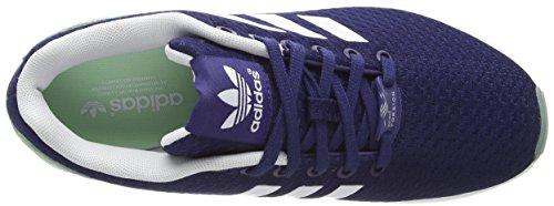 adidas ZX Flux W - Zapatillas de running Mujer Azul (Night Sky/Ftwr White/Frozen Green F15)