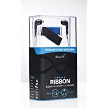 BlueAnt Ribbon Stereo Bluetooth Streamer- Bluetooth Headset - Black/Blue