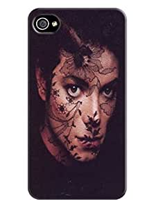 The best quality tpu phone cover case with texture for iphone4/4s of Michael Jackson in Fashion E-Mall