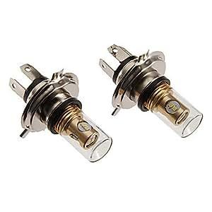 H4 12W 880LM 5500-6500K refrescan la lámpara LED de luz blanca para el coche (12-24V)