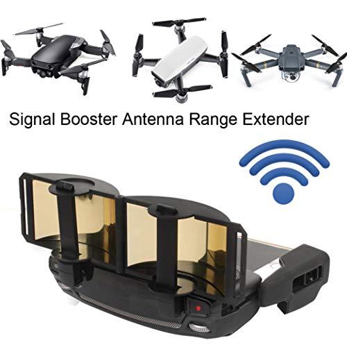 Kanzd DJI Mavic Pro Mavic Air Spark Signal Booster Antenna Range Extender (Gold)
