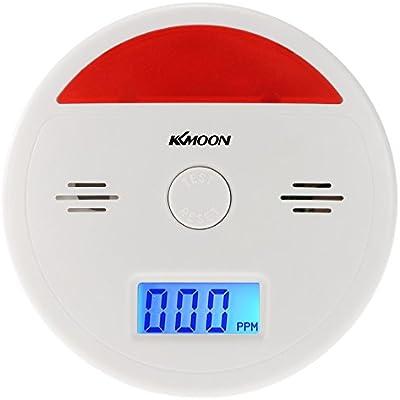 Carbon Monoxide Detector Poisoning Sound Combo Sensor LED Light