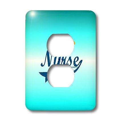 3D Rose lsp_11923_6 Nurse Angel Halo Wall plates