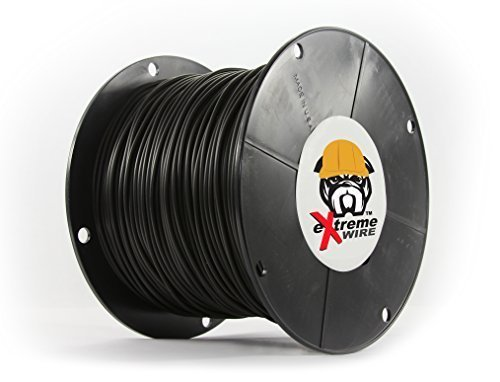 PetSmart Invisible Fence Compatible Above Ground or Underground Wire for DIY Electric Pet Fence - 2000 Foot Spool of Best Quality High Performance Solid Core Copper Wire for Easy Installation (Dog Fence Innotek)