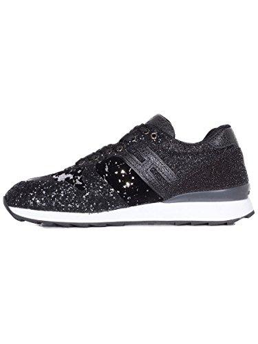 Black Hogan Sneakers Women's HXW2610Y930H841920 Suede fEwFRE