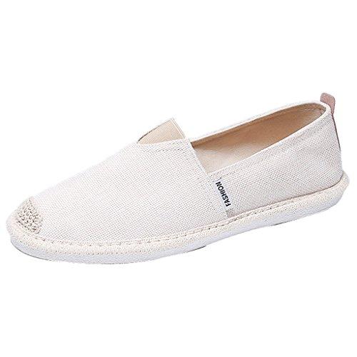 scarpe Estate scarpe uomo uomo tela casual 40 vecchia Size da pedale Color scarpe Espadrillas YaNanHome Pechino Bianca uomo un basse Scarpe uomo da Green scarpe da da fC1Xq