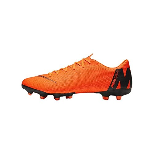 Hombre para t Mercurial Black Multicolor Orange MG Academy de XII Nike Fútbol Total 810 Zapatillas Vapor zUq8WR6