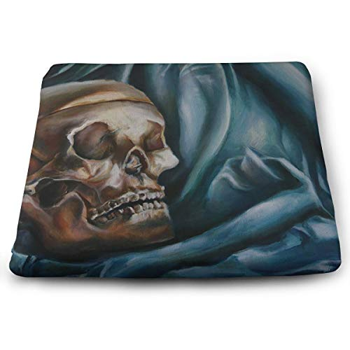 Comfortable Seat Cushion Chair Pad Skull Head Perfect Memory Foam Cushions Lighten The -
