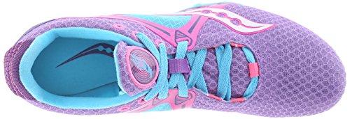 Scarpa Da Corsa Velocity Donna Saucony Viola / Rosa / Azzurro