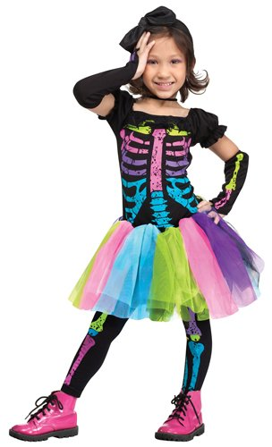 Skeleton Costumes For Toddlers (Funky Punk Skeleton Toddler Costume)