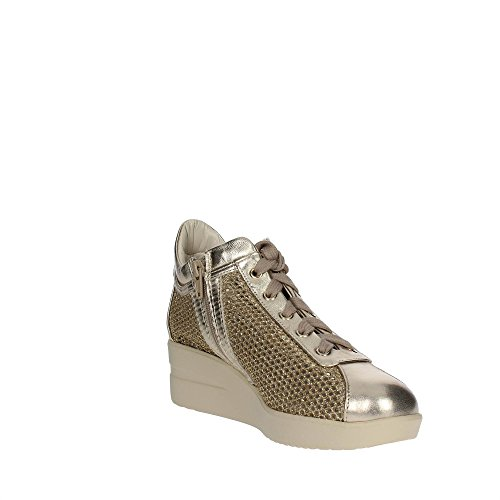Agile By Rucoline 226 A Zapatillas De Deporte Mujer Cuero/tejido Oro Oro 39