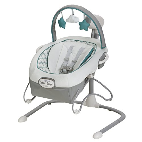 Graco Duet Sway LX Swing with Portable Bouncer, Merrick