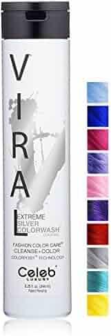 Viral Extreme Silver Colorwash, 8.25oz