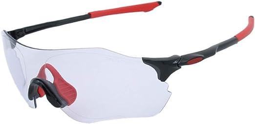 ERSD Gafas de Sol Deportivas fotocromáticas sin Marco Polarizadas Protección UV400 Conducción Ciclismo Correr Pesca Golf Decoloración Gafas Gafas Decorativas con Estilo Deporte Viajes (Color : A002): Amazon.es: Jardín