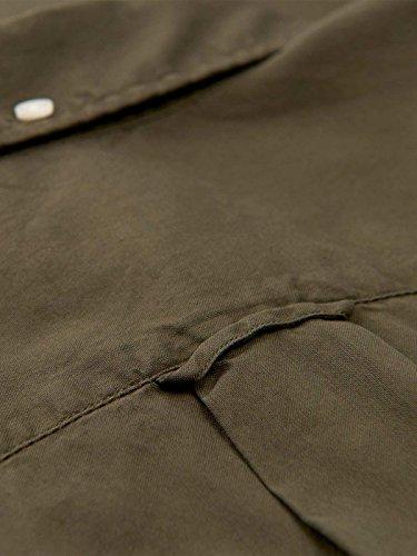 GANT Men's 18013082632362 Brown Cotton Shirt by GANT (Image #1)