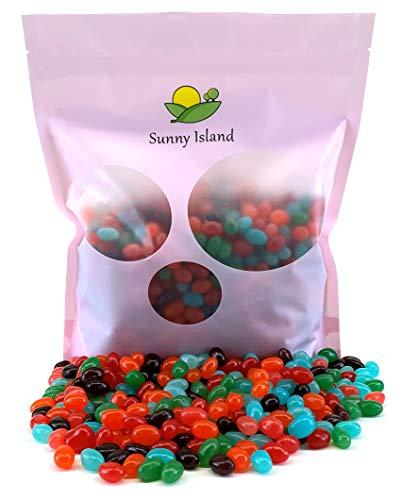 Sunny Island Bulk - Jolly Rancher Jelly Beans Original Flavors Candy Bulk Bag, 2 Pounds Bag