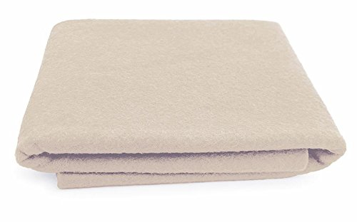 - Natural Undyed - XXL Wool Felt Sheet - 100% Virgin Merino Wool - 36 in x 36 in - Cream/Ivory White