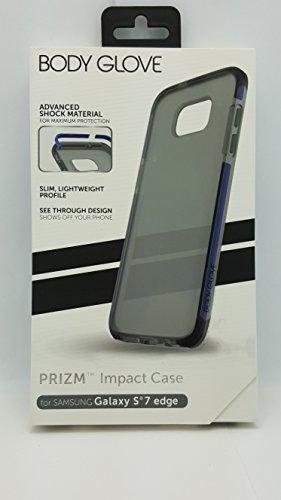 Edge Rim (Body Glove Prizm Impact Case for Galaxy S7 Edge - Frost/Blue Rims)