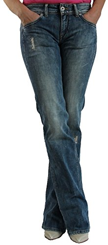 Hilfiger Denim Damen Jeans Ruby TRST blue stonewashed (W28/L32, blau)