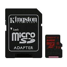 64GB UHS-I SPEED CLASS 3 (U3) 90R/80W