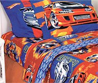 Marvelous Hot Wheels Turbo Boost   4pc Bed Sheet Set   Full/Double Size Bedding