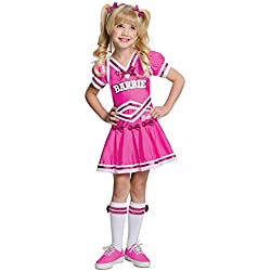 Baby-Toddler-Costume Barbie Cheerleader Toddler Costume 2T-4T Halloween Costume