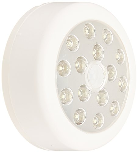 Dorcy Battery Operated Magnetic Motion Sensor Light with Hanging Hook, White (41-1068) by Dorcy International