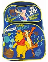 Winnie the Pooh Backpack - Winnie the Pooh School Bag (Blue)