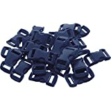 "50 - 5/8"" Economy Contoured Side Release Plastic Buckles"