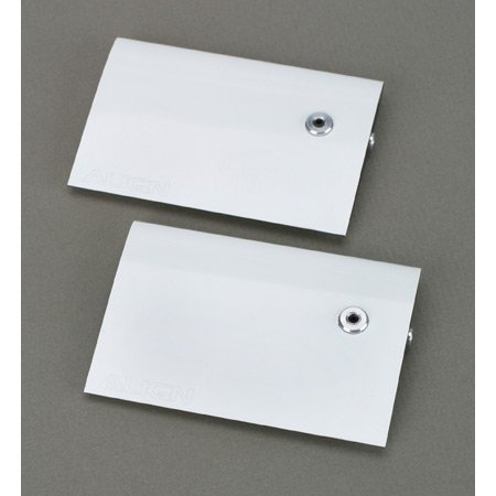 Align Carbon Fiber Flybar Paddle Set, 3K White: All T-Rex (Align 600 Carbon)