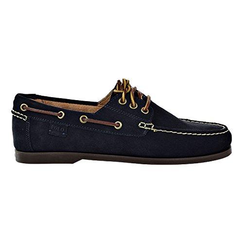 Polo Ralph Lauren Men's Bienne II Boat Shoe, Dark Navy, 9.5 D US