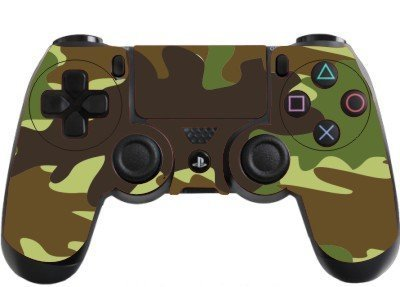 Amazon Com The Grafix Studio Army Camouflage Playstation 4 Ps4 Controller Sticker Skin Wrap Ps6 Video Games