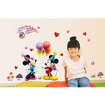 Minnie And Mickey Birthday Wall Decal Part 43