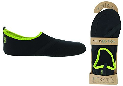 Best buy FitKicks Men' Active Lifestyle Footwear, -Large, Black