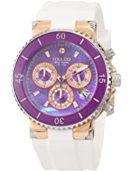 Mulco Womens MW3-70604-015 Bluemarine Chronograph Swiss Movement Watch
