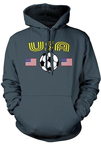 Amdesco Men's USA Soccer, American United States Football Ho